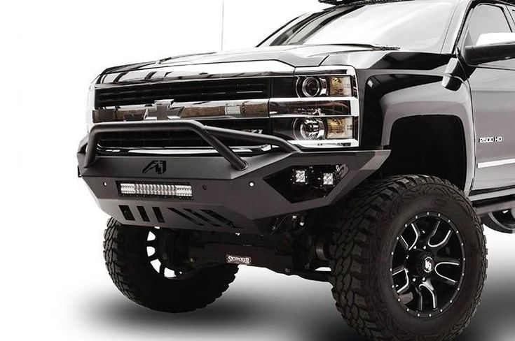 Fab Fours Vengeance Pre-Runner Truck Front Bumper 2015-2017 Chevy 2500-3500 CH15-V3052-1