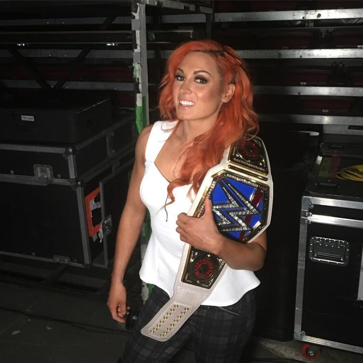 The Smackdown Women's Champion @beckylynchwwe is ready for #WWETLC! #SDLive