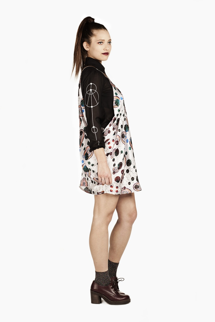 Fashion and Textile Design: Fay Charlton [photographer Justyna Kloch retoucher Liliya Ivanova]