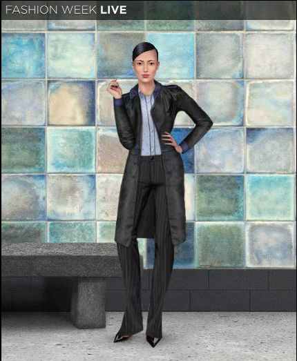 Happy Wednesday Fashion Fans!! Our model is heading to work in her new trench. Where would you wear this great jacket?