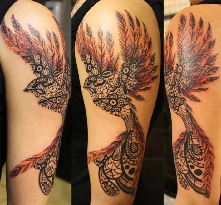 Best 25+ Bird Silhouette Tattoos Ideas On Pinterest