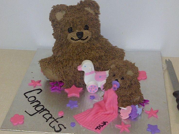 Girl  Teddy Bear Set Babyshower