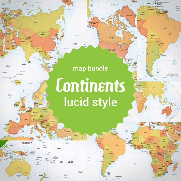 13 best printable and editable map bundles images on pinterest buy vector maps of the continents lowest price 65 off gumiabroncs Images