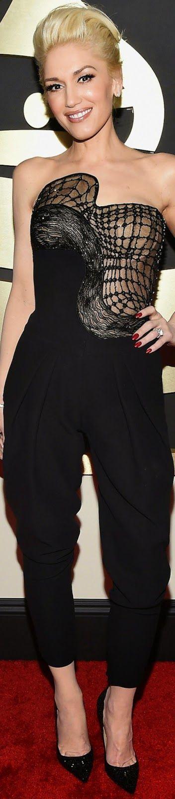 Gwen Stefani                                                      2015 Grammy Awards Red Carpet