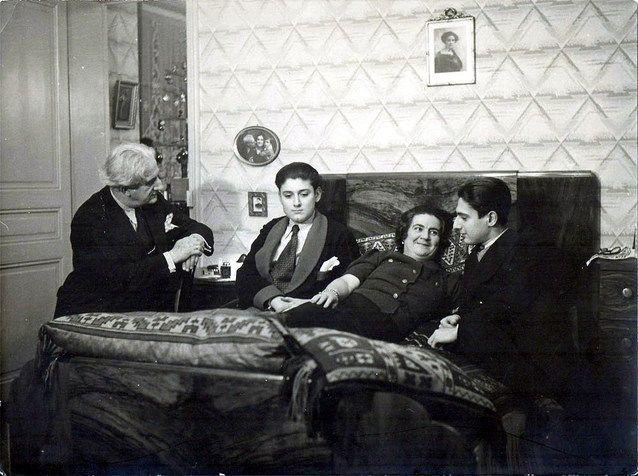 Familia Lipatti la Paris: Theodor, fratele Valentin, Ana si Dinu