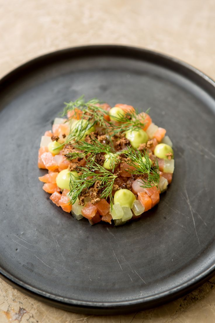 Gin and tonic cured salmon by Paul Welburn