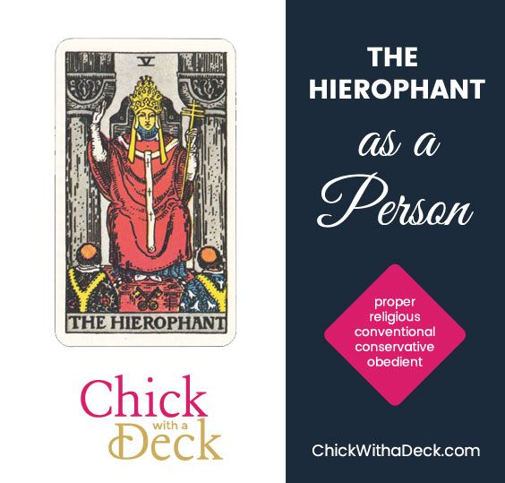 The Hierophant as a Person
