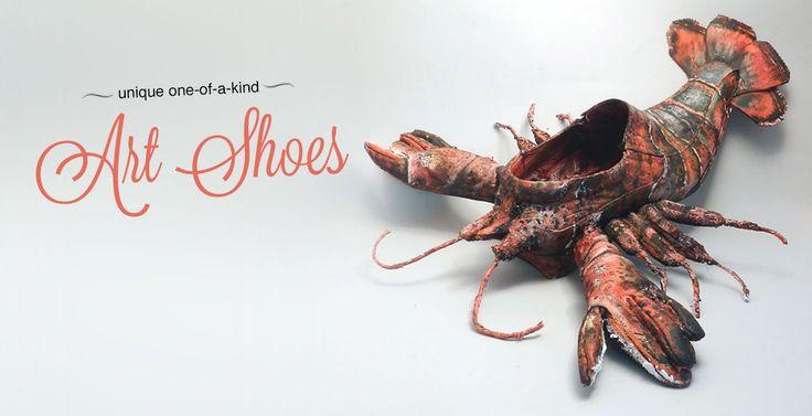 Lobster Art Shoe