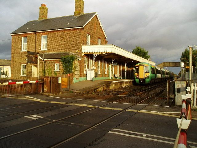Angmering Railway Station (ANG) in East Preston, West Sussex