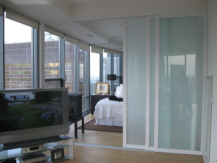 61 best images about room divider ideas on pinterest for Interior sliding glass doors room dividers