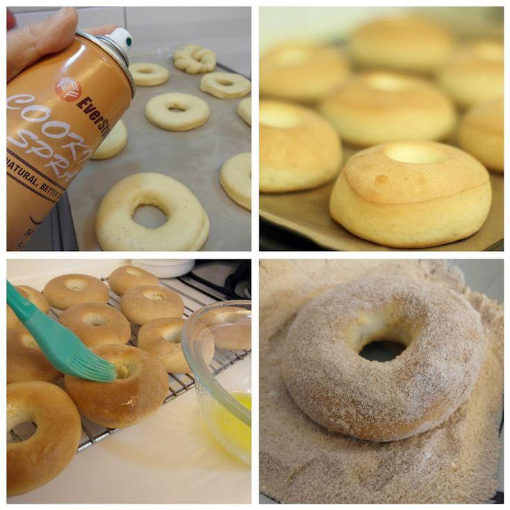 Seguro que no se imaginaban que iba a hacer unas donuts después de hacer un curso de panes artesanales jaja!!Sucede que esto fue lo primer...