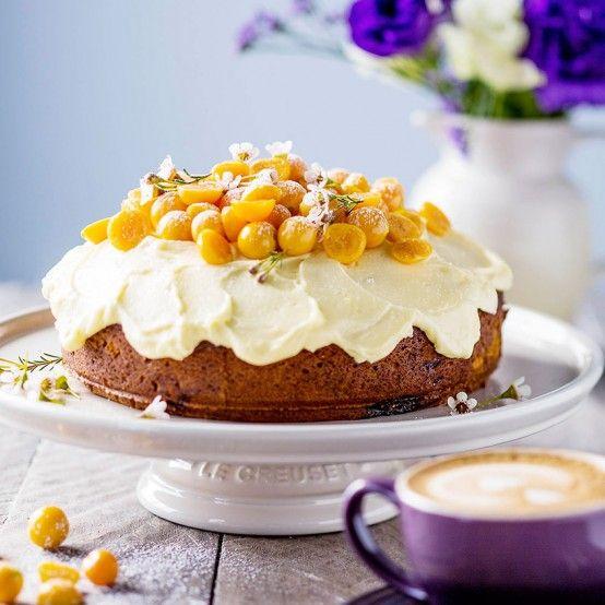 Cape Gooseberry Cake