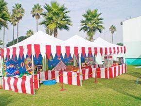 carnival set up
