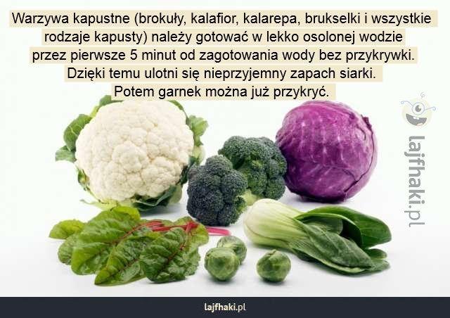 Jak gotować warzywa kapustne? - Warzywa kapustne (brokuły, kalafior, kalarepa…