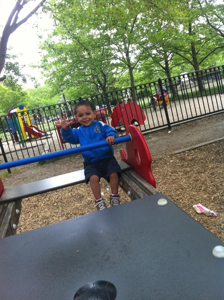 Jayden@ the Park...