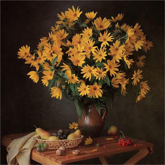 осенний цветок фото арт пятидесяти красавиц