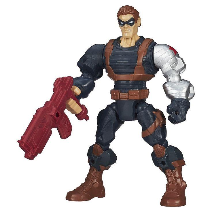 Marvel Super Hero Mashers Winter Soldier Action Figure
