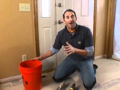 Lay Your Own Kitchen Tile Floor Youtube
