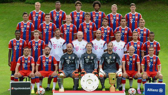 Skuad Pemain Bayern Munchen 2015 Berita Terbaru Pinterest Real Madrid The O 39 Jays And Bayern
