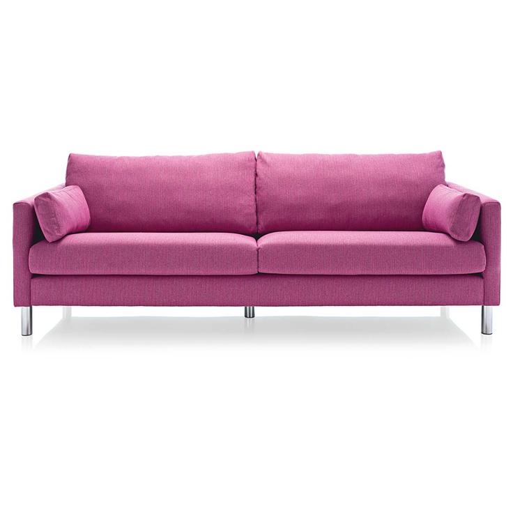 Pink Power: Sofa für Farbenliebhaber. #impressionen #living