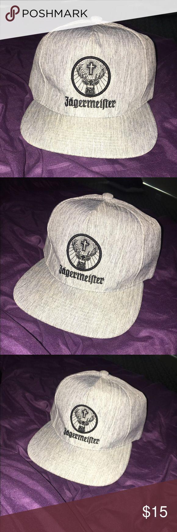 Jägermeister Hat Jägermeister grey hat cap Accessories Hats