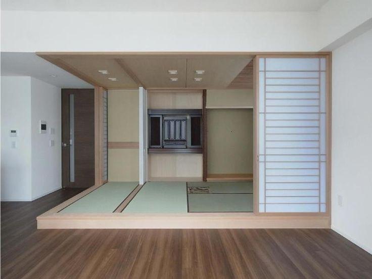 建築家:堀 紳一朗「マンションに仏間⇔茶室  住まいの一角に心落ち着く空間を」