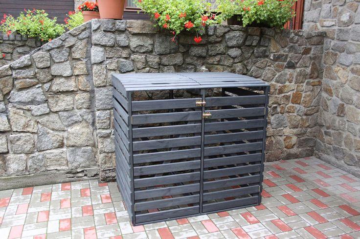 ber ideen zu m lltonnenbox holz auf pinterest. Black Bedroom Furniture Sets. Home Design Ideas
