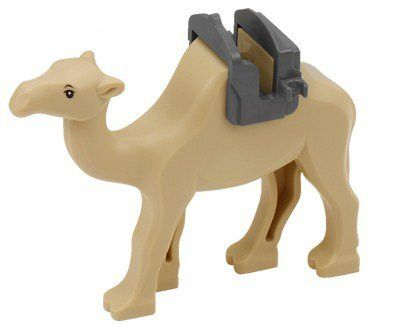 Camel (With Saddle) - LEGO Prince of Persia Minifigure