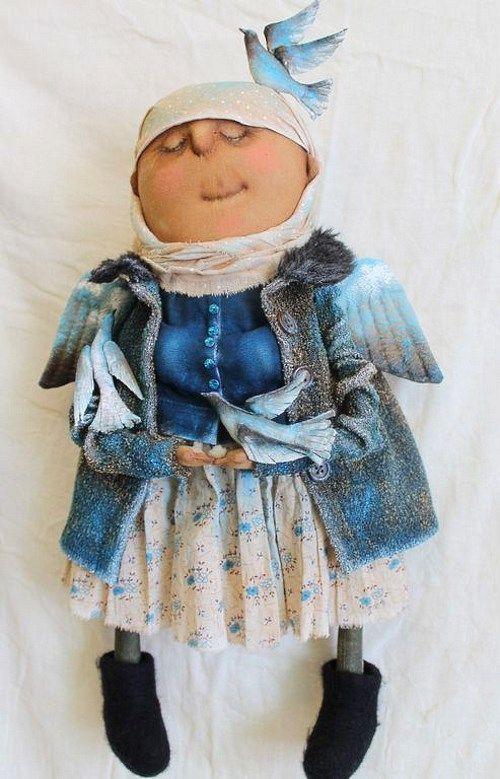 Кукла: Божьи птахи Автор: Татьяна Козырева