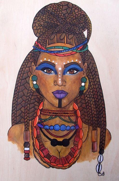 Black Women Art!, King B, Fela Queen For more on the inspiration.