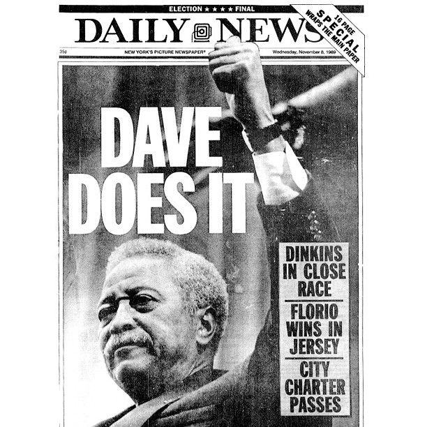 David Dinkins - First Black Mayor Of NYC