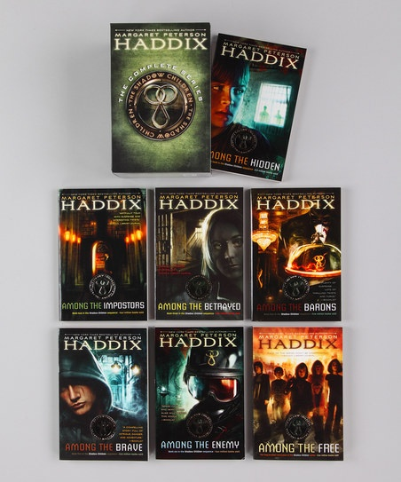 The Shadow Children Series by Margaret Peterson Haddix. Perfect read alouds!!!!!