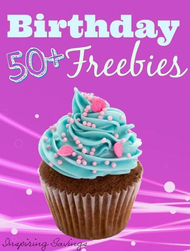 Retail freebies birthday
