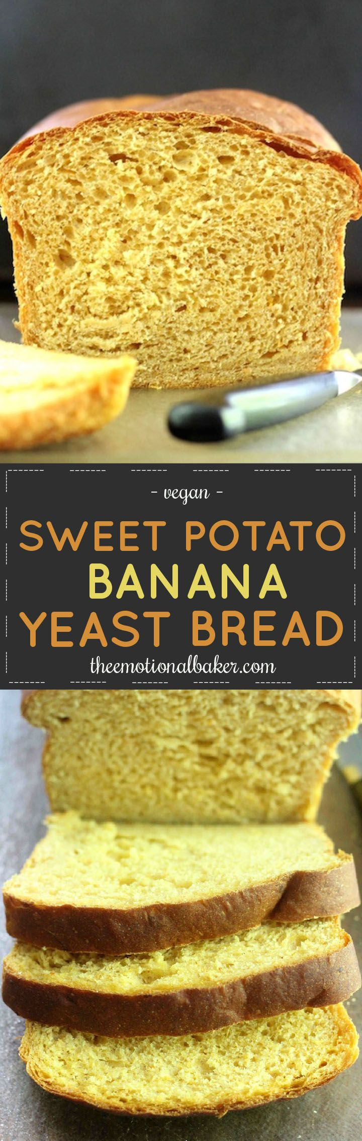 Everyone can make homemade bread! This recipe for Sweet Potato Banana Bread is easy and yields a moist, beautiful loaf perfect for fall and Thanksgiving.