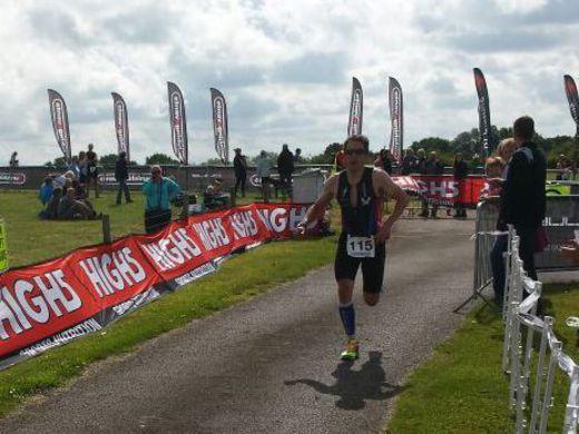 Blithfield Olympic Triathlon - run leg