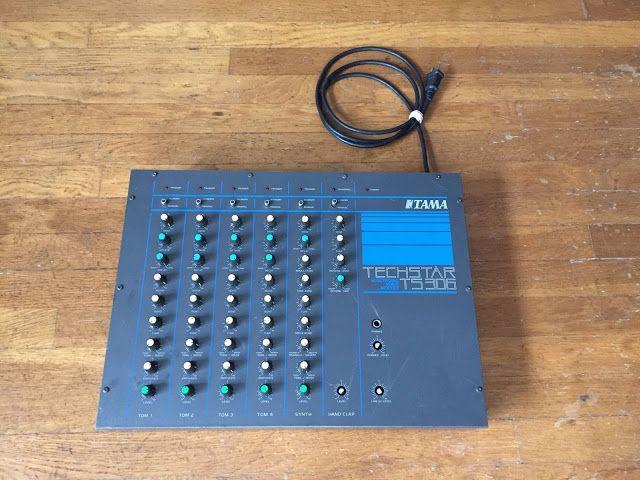 Matrixsynth Tama Techstar Ts 306 Analog Drum Synthesizer