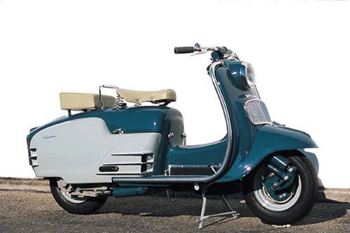 ducati cruiser from the 1950