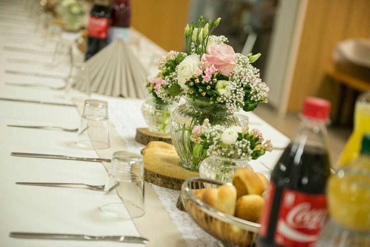Hochzeitsdeko rose'