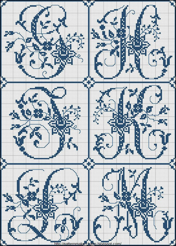 Free Cross Stitch Charts + Free Historic Old Pattern Books: Sajou No 324 (Paris)