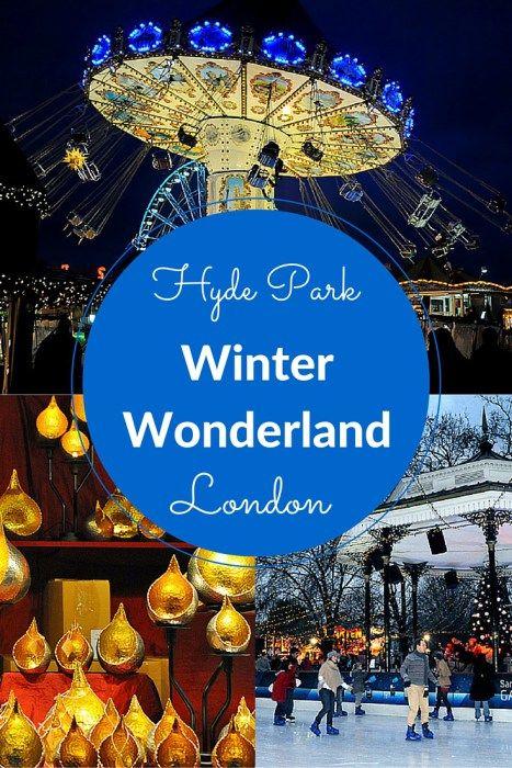 Hyde Park's Winter Wonderland, London