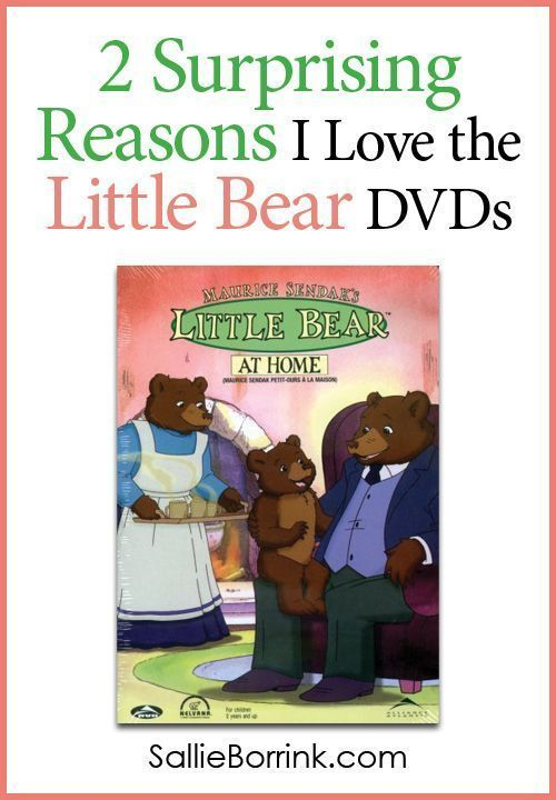 """Everyone loves the """"Little Bear"""" stories on DVD or TV. But I was surprised that there were two additional reasons I loved these stories so much!"""