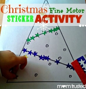 With all the holiday activities and festivities going on, I realized that I had not really done any fine motor activities with my daughter in a week or two. During a scroll on Pinterest, however, I saw this activity. Not only was it super easy to make the activity for my preschooler, it is [...]