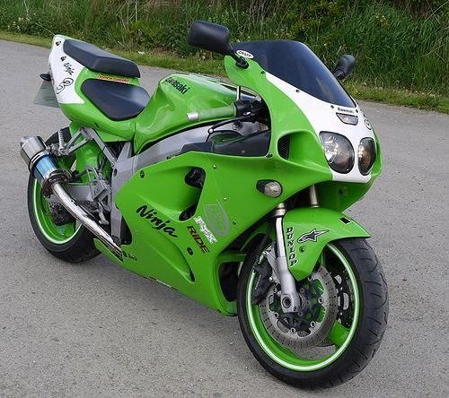 Kawasaki Ninja, had one when I was in the Army