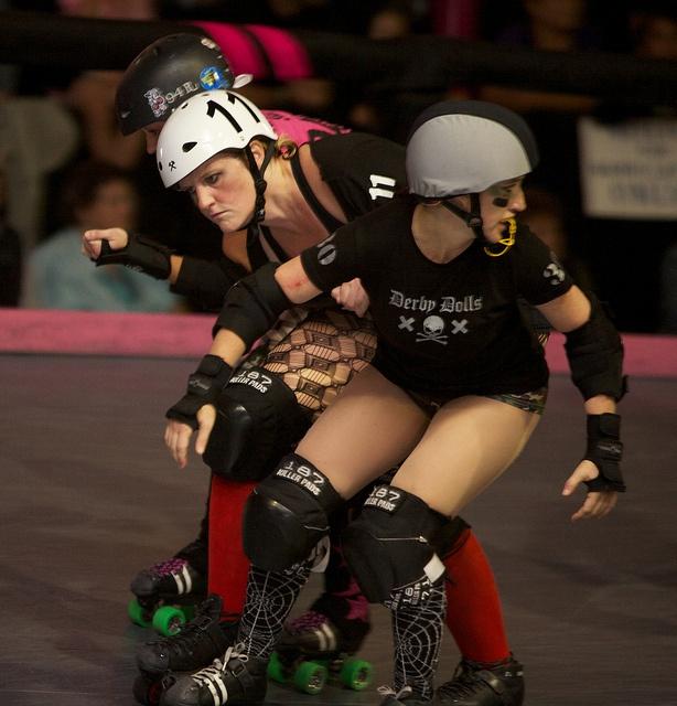 LA Derby Dolls Baby Doll Brawl