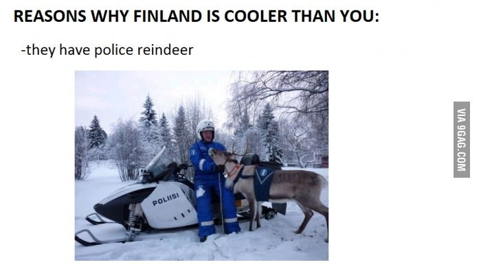 Why Finland is cooler than you