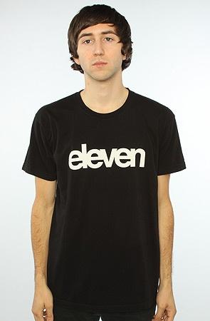 The Helvetica Tee in Black M