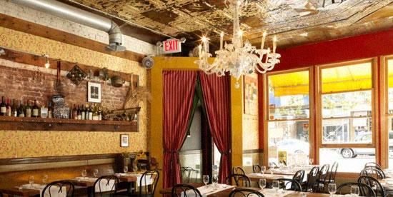 Al di la Trattoria - 5th Avenue, Brooklyn, NY, U.S.A. (via AldilaTrattoria.com)