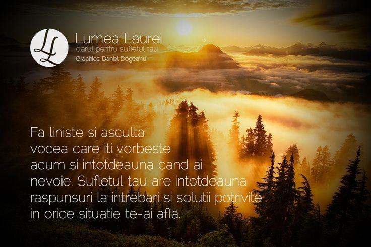 Mesaj pentru tine, de la suflet la suflet | Lumea Laurei