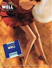 PUBLICITE ADVERTISING 084  1990  WELL collants  EMBELISSEURS