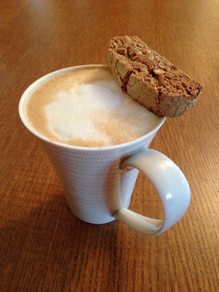Homemade latte Biscotti mandatory